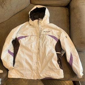 Women's Columbia ski jacket
